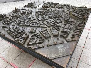 Stadtmodell Vogelperspektive